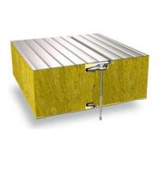 Sandwich panels for refrigerating warehouses
