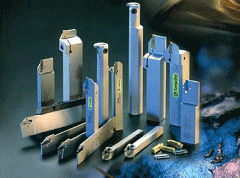 Metal-cutting hard-alloy tool: turning,