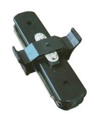 Коннектор линейный Ultralight однофазный черный