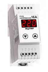 Реле контроля напряжения DigiTop VP-16A