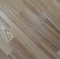 Country parquet from an oak, an ash-tree