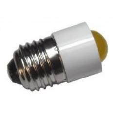 Лампа СКЛ7А-Ж-2-220 Е27/27 Желтая