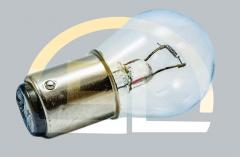 Лампа накаливания самолетная СМ 26-25 B15d