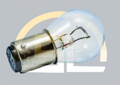 Лампа накаливания самолетная СМ 28-20 B15d