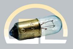 Лампа накаливания самолетная СМ 28-4,8 B9s