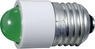 Лампа СКЛ7-Л-2-220 Е27/27 Зеленая