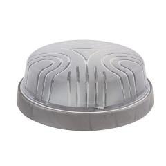 Светильник потолочный ERKA 1103-S прозрачный/серебро