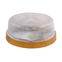Светильник потолочный ERKA 1102 LED-G 12W 4200 К прозрачный/золото