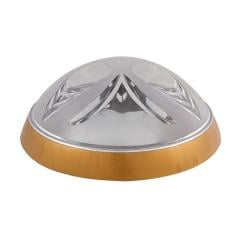 Светильник потолочный ERKA 1126 LED-G 12W 4200 К прозрачный/золото