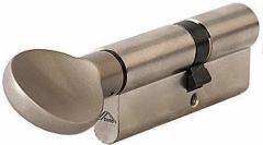 Профильный цилиндр с воротком 45*50