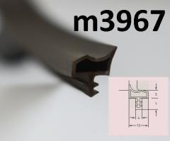 Уплотнитель deventer M3967 Коричневый