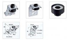 Fastenings for ventilating boxes, Suspended system