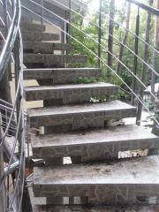 Изготовление бетонных лестниц,лестницы,монолитные