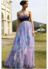 Final dress lilac long
