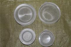 Covers for cans polyethylene (for foodstuff)