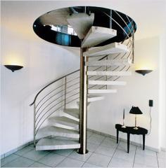 Лестницы винтовые металлические. Лестницы винтовые