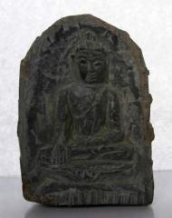 Buddha's figurine in a stone