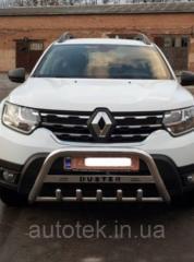 Защита переднего бампера (кенгурятник) Dacia