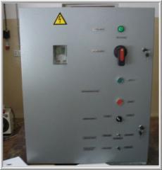 Semi-automatic control panels