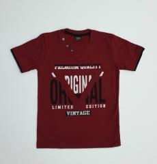 Трикотажная подростковая футболка для мальчика