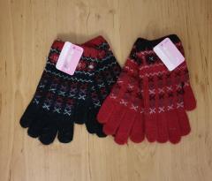 Шерстяные перчатки на девочку