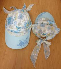 Летняя кепка для девочки
