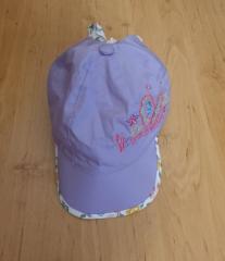 Летняя кепка - косынка для девочки