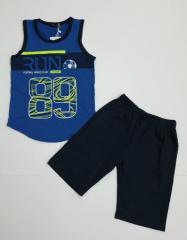 Летний детский костюм майка и шорты для мальчика