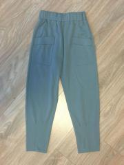 Утепленные брюки для девочки спортивного кроя в