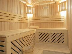Lining wooden linden, pine