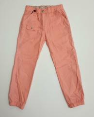 Летние брюки джоггеры для девочки в розовом цвете,