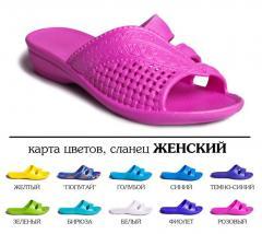 Women's beach shoes, wholesale, art. 110