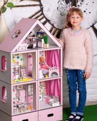 Кукольный домик Большой Особняк для Барби с