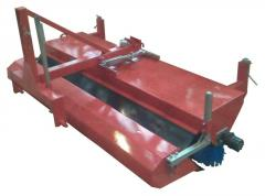 The brush for cleaning of streets (harvester) to