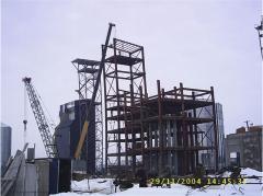 Рабочая башня элеватора