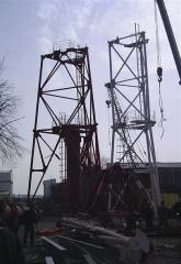 Башни-трубы дымовые. Башни и мачты из металла