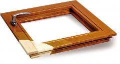 We make eurowindows from a pine, the goods are