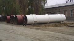 Стволы газоотводящие дымовой башни-трубы