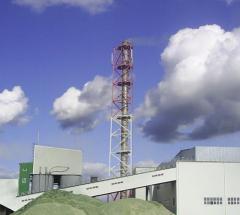 Башня-труба дымовая. Башни и мачты из металла
