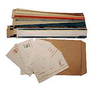 Packers and obanderolivatel, ring parcels post,