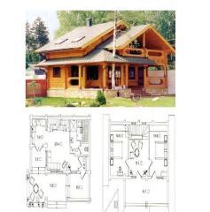 Новострой, дома деревянные из бруса под ключ