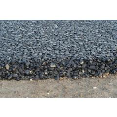 Black crushed stone