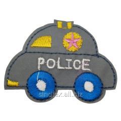 """Светоотражающие наклейки на одежду для детей 6х5см """"Полиция"""" (СИНДТЕКС-0754)"""