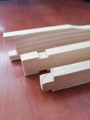 Frame for beehives magazine 145mm with a slot for