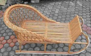 Детские плетеные санки Код 7897