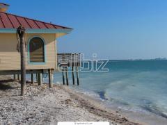 База отдыха на берегу моря