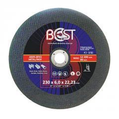 Круг шлифовальный по металлу Best 230x6,0x22,23