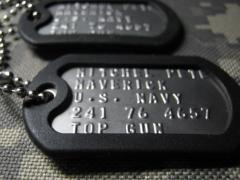 Nominal army counter of dog tag