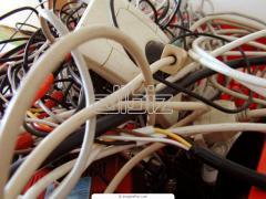 Кабели, провода в ассортименте. доставка.