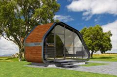 Mini-office. Modular mini-office with a